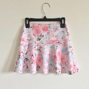 Abercrombie Kids Silk Floral Skirt /Size 8